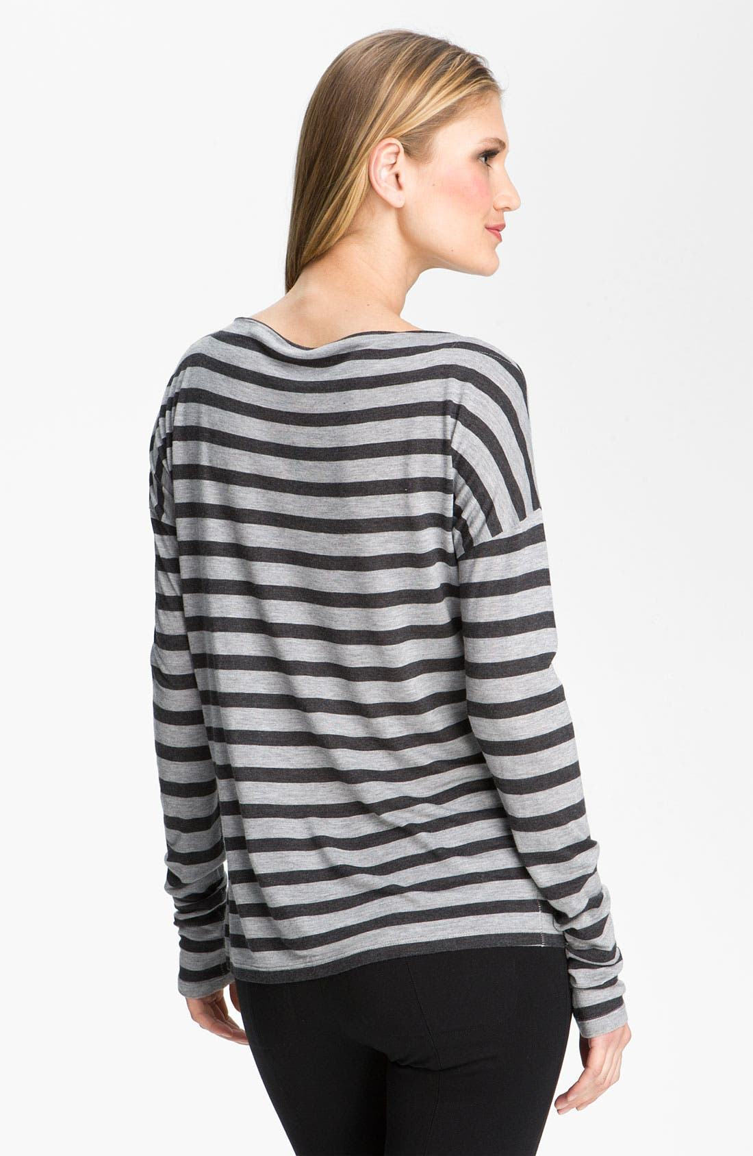Alternate Image 2  - Vince Striped Boatneck Top