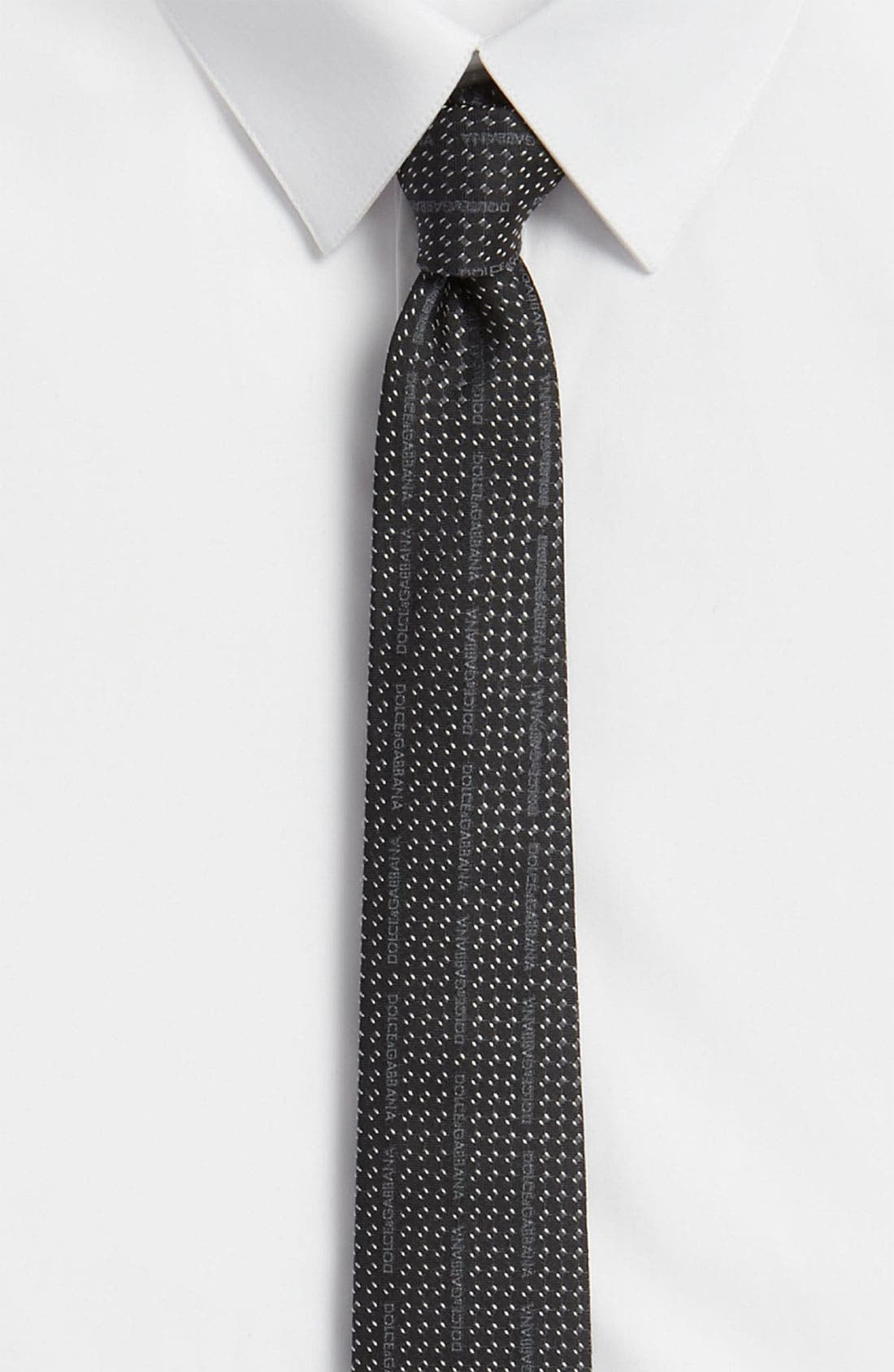 Alternate Image 1 Selected - Dolce&Gabbana Silk Tie
