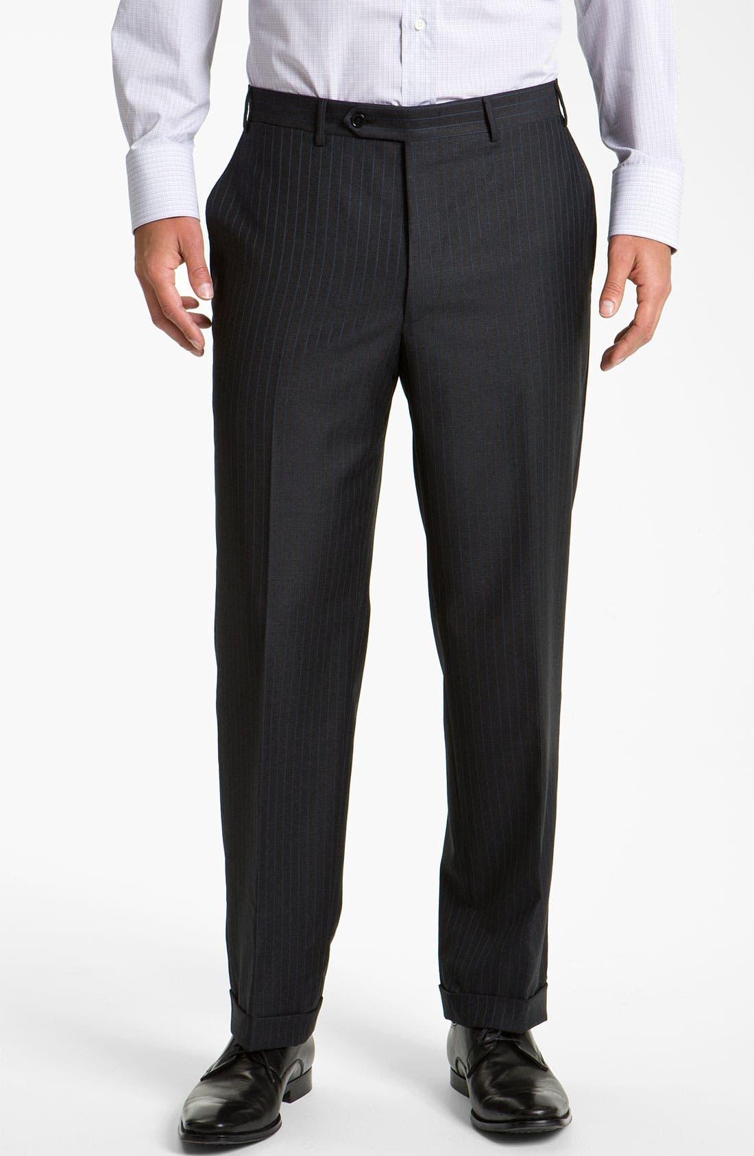 Alternate Image 4  - Canali Stripe Suit