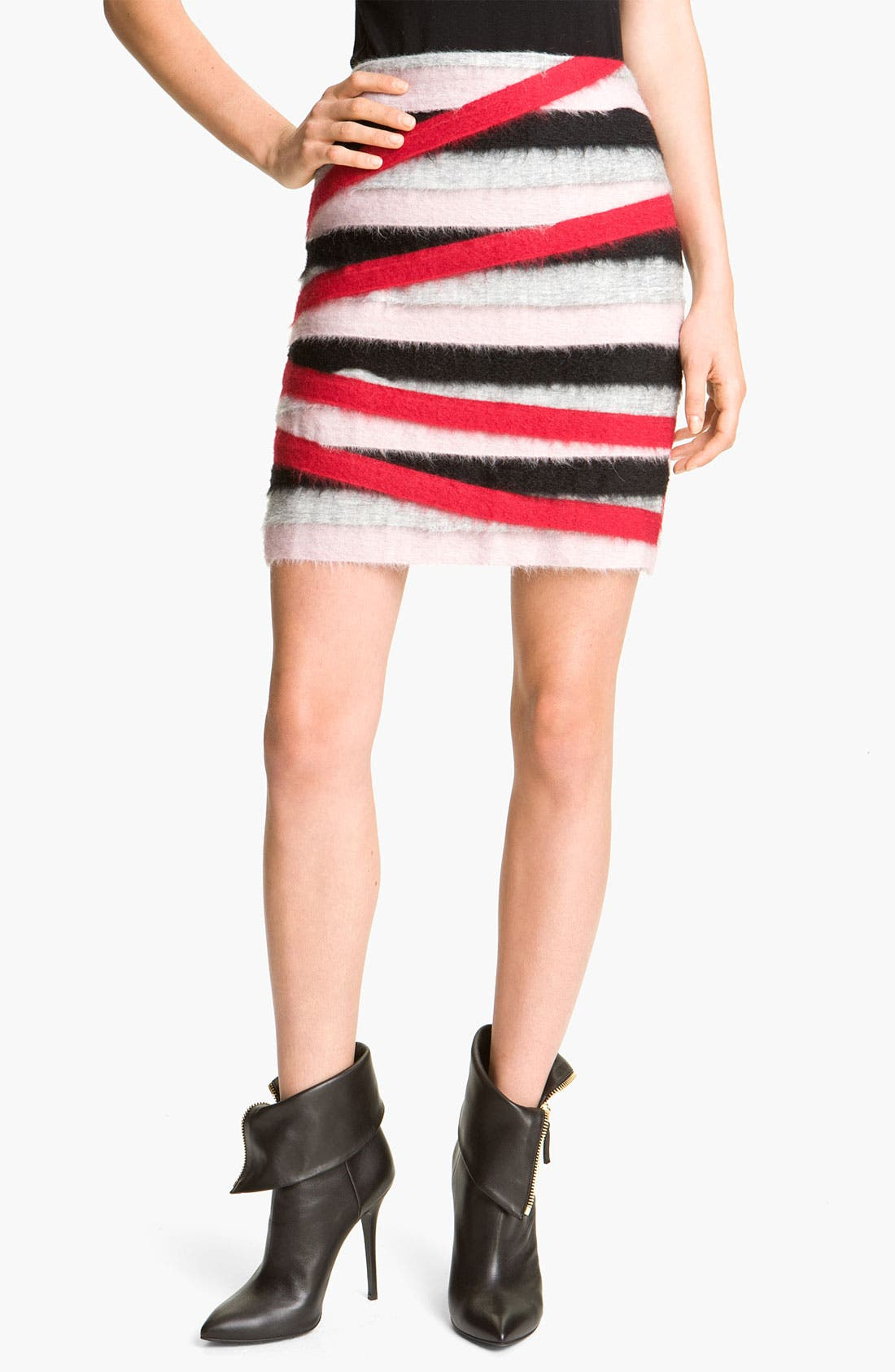 Alternate Image 1 Selected - MSGM Stripe Miniskirt