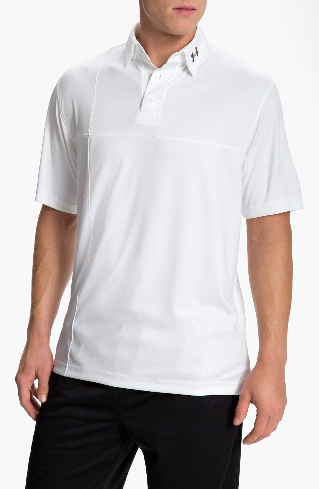 Alternate Image 1 Selected - Under Armour HeatGear® UV Protection Performance Polo
