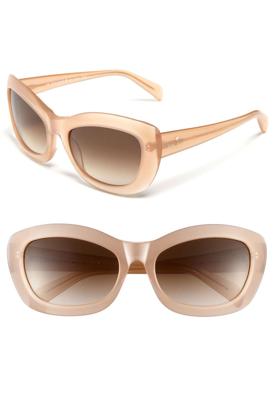 Alternate Image 1 Selected - kate spade new york retro cat's eye 56mm sunglasses
