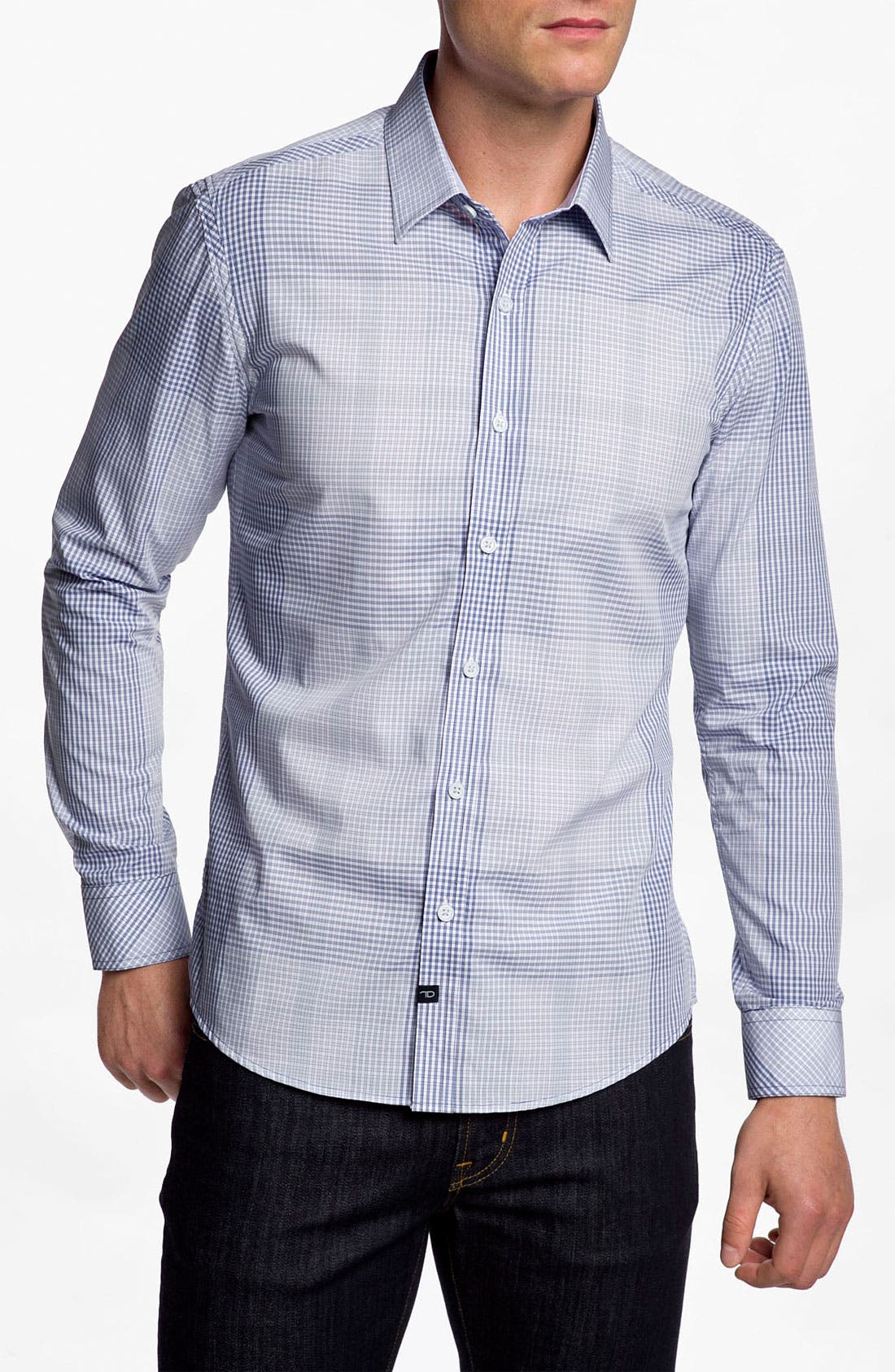 Alternate Image 1 Selected - 7 Diamonds 'Young Friction' Woven Shirt