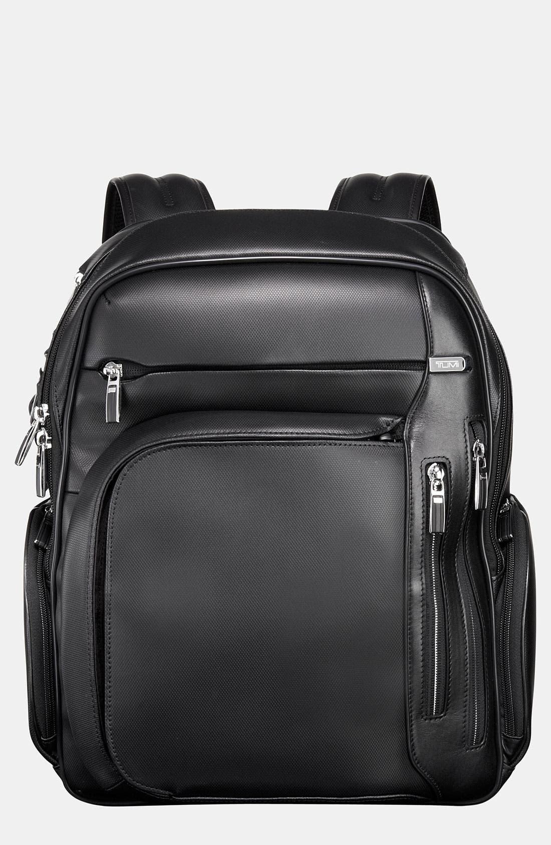 Alternate Image 1 Selected - Tumi 'Arrive - Kingsford' Leather Backpack