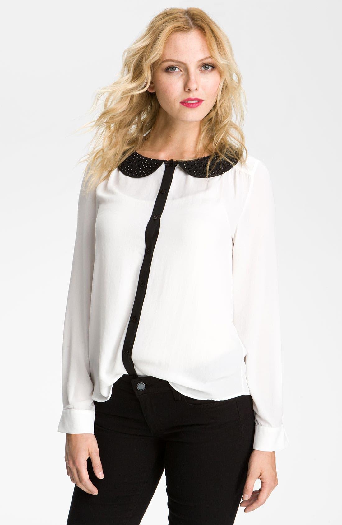 Alternate Image 1 Selected - Bellatrix Embellished Collar Shirt