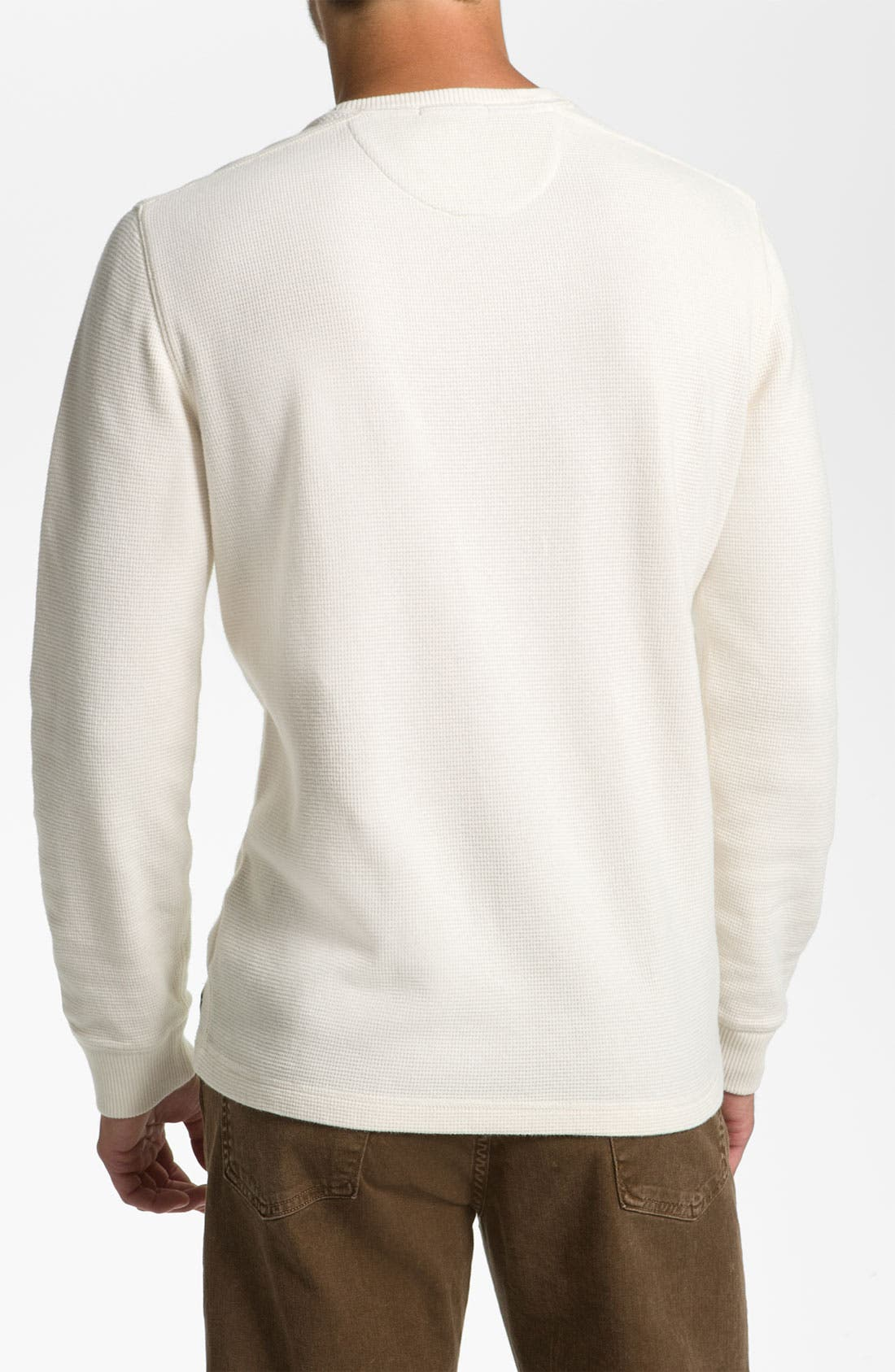 Alternate Image 2  - Brooks Brothers Crewneck Thermal T-Shirt