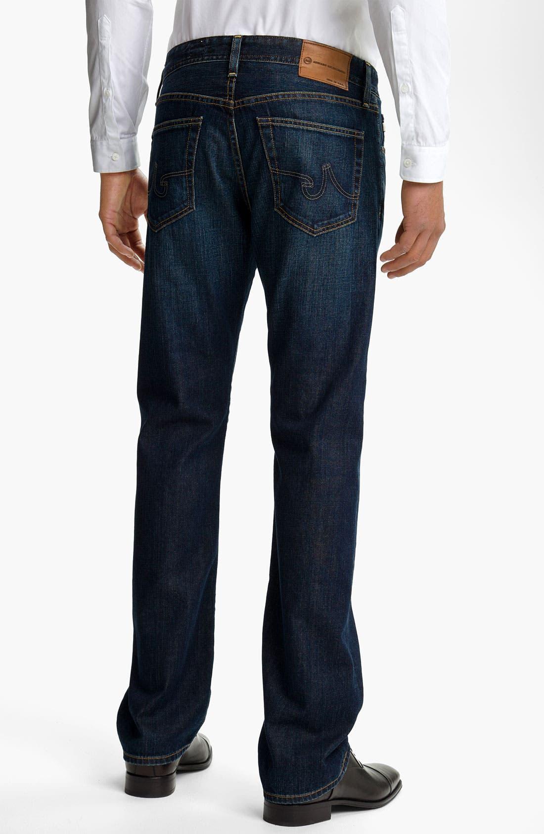 Alternate Image 2  - AG Jeans 'Protégé' Straight Leg Jeans (Seven Year Smooth)