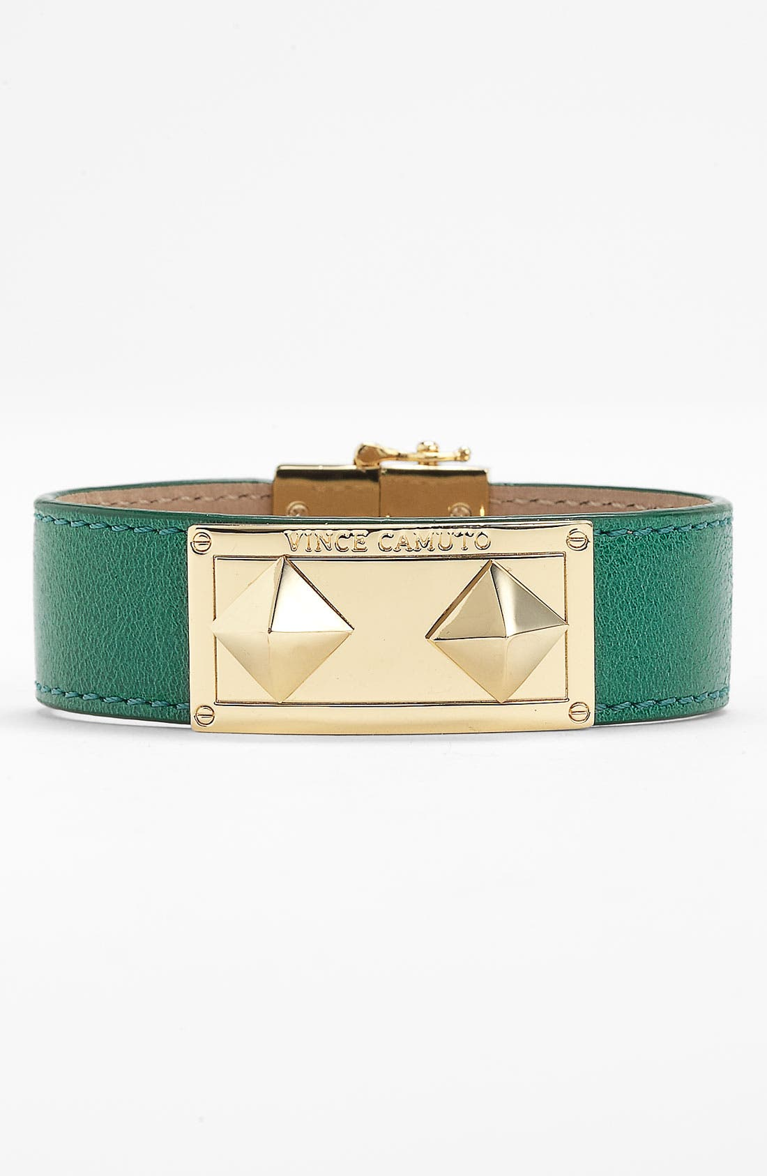 Alternate Image 1 Selected - Vince Camuto Studded Leather Wrap Bracelet