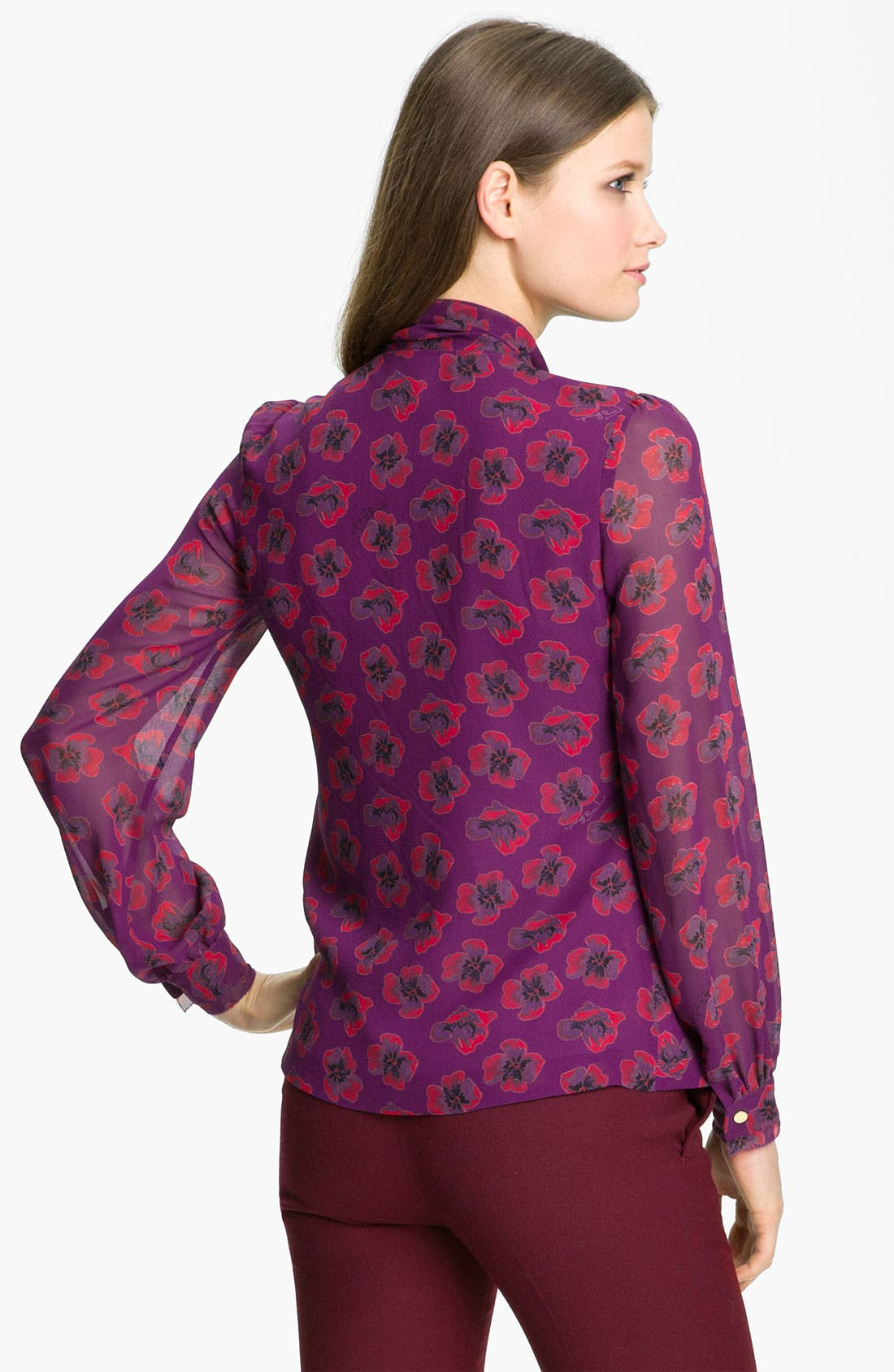 Alternate Image 2  - Tory Burch 'Bryce' Silk Blouse
