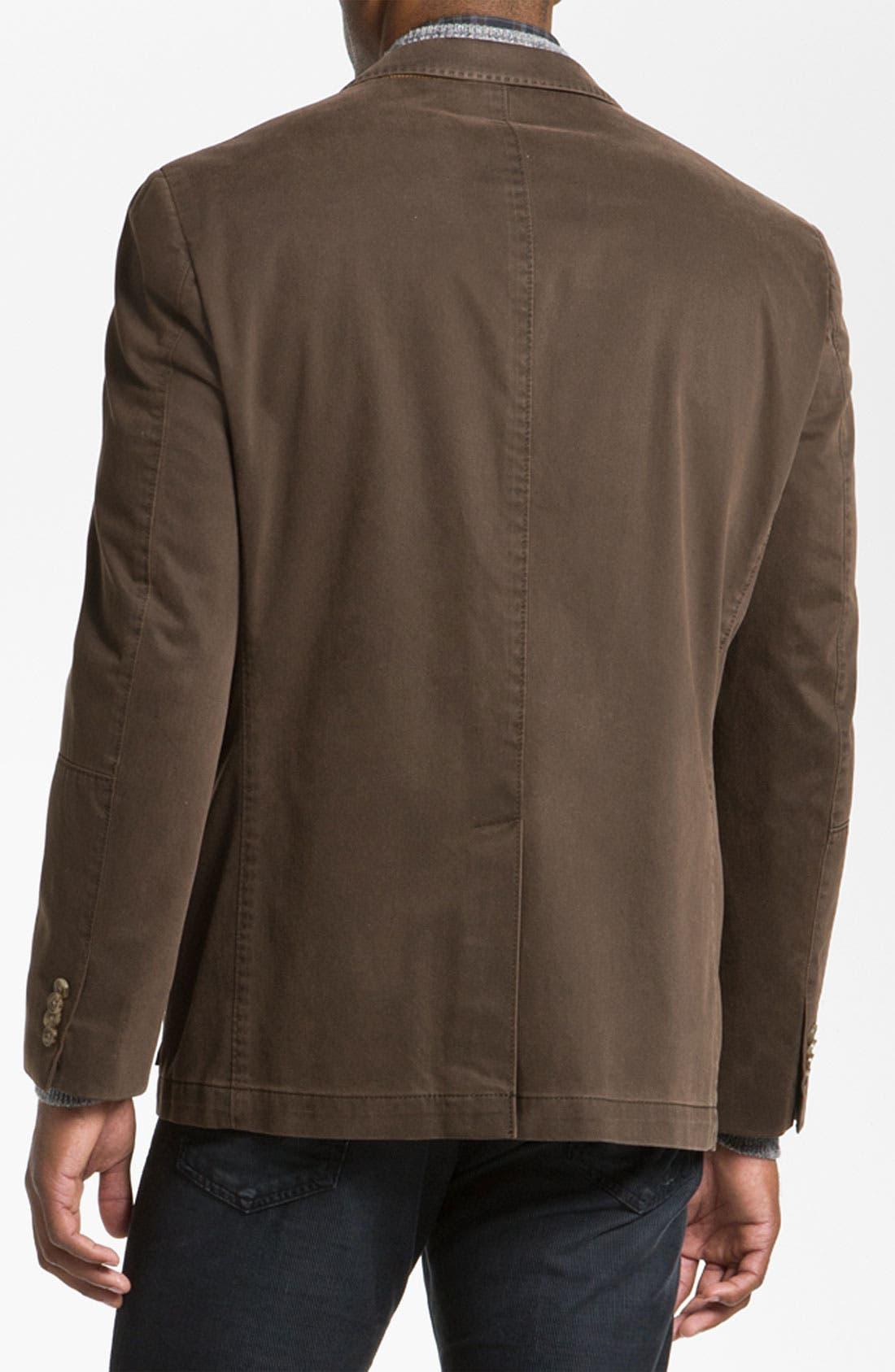 Alternate Image 2  - Kroon 'Matthews' Brushed Cotton Sportcoat