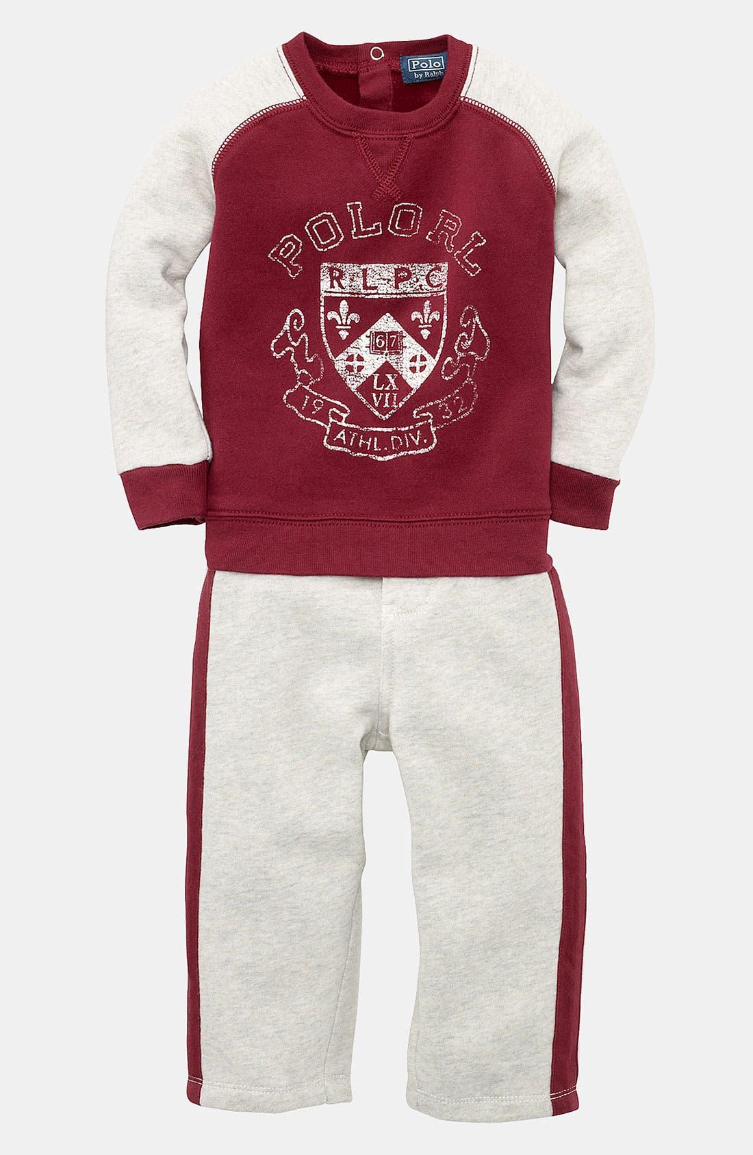Main Image - Ralph Lauren Shirt & Pants (Infant)