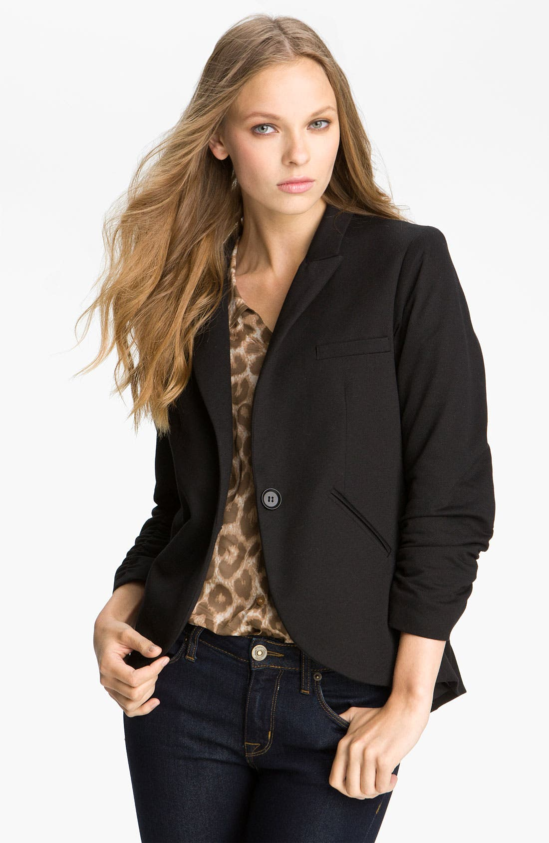 Alternate Image 1 Selected - Gibson Equestrian Blazer (Regular & Petite)