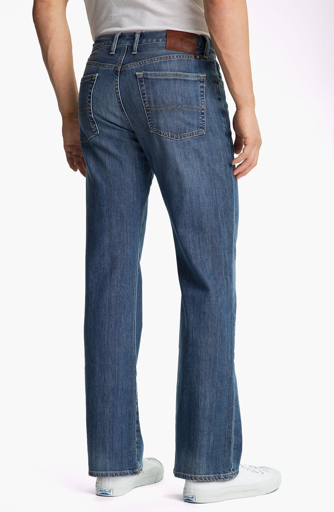 Alternate Image 2  - Lucky Brand '367 Vintage' Bootcut Jeans (Nugget)