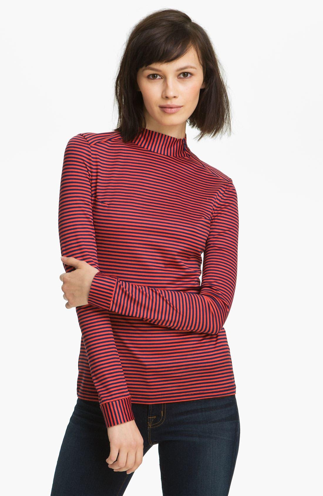 Alternate Image 1 Selected - Twenty8Twelve 'Gigi' Ministripe Jersey Top