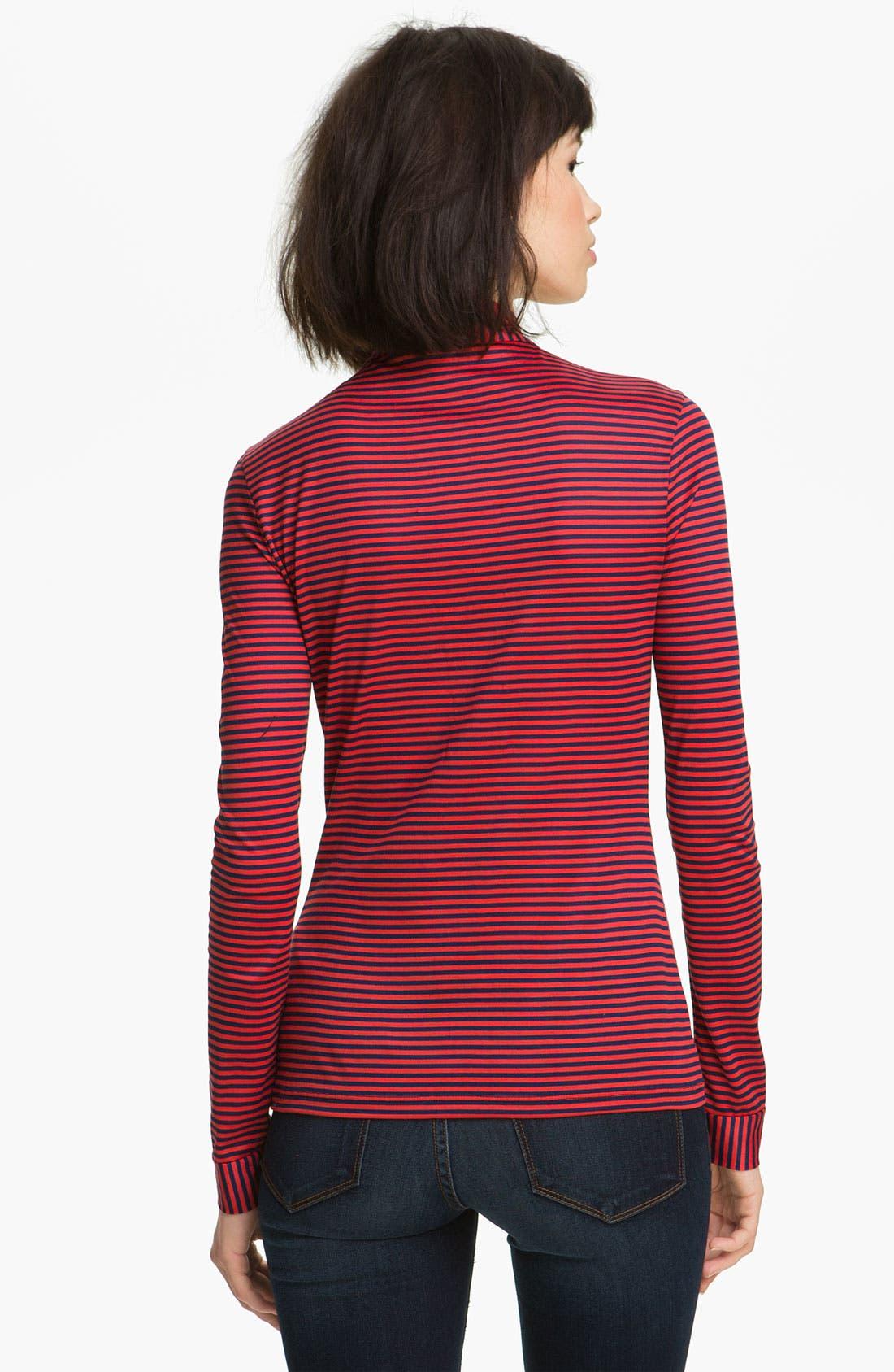 Alternate Image 2  - Twenty8Twelve 'Gigi' Ministripe Jersey Top