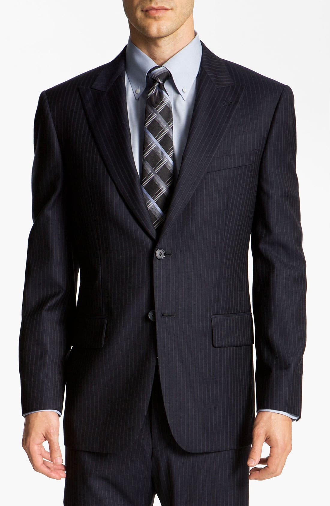 Alternate Image 1 Selected - Joseph Abboud 'Profile' Pinstripe Wool Suit