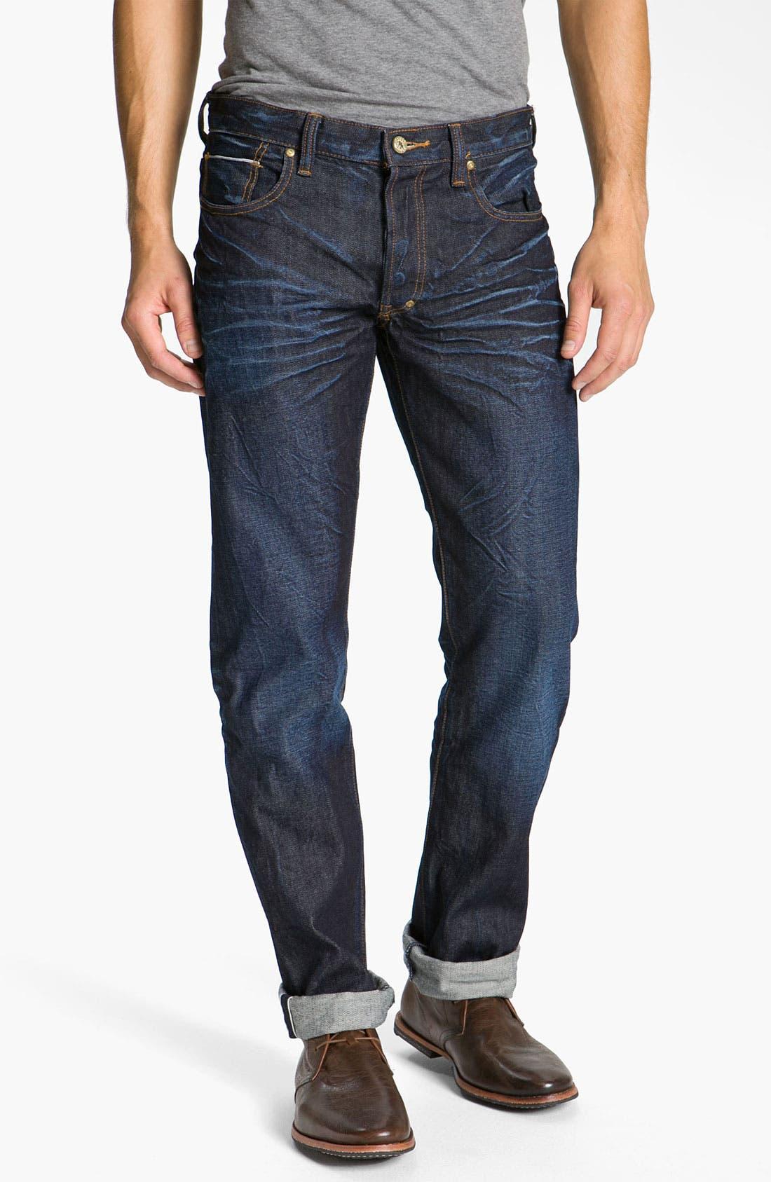 Alternate Image 2  - PRPS 'Snowy Crevasses Barracuda' Straight Leg Jeans (1 Year Wash)