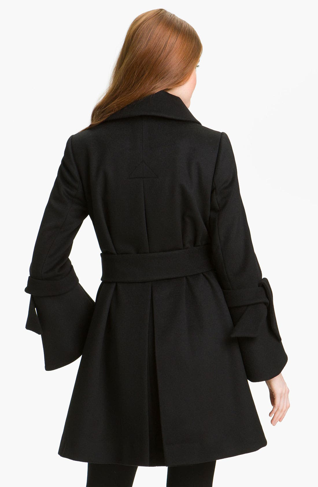Alternate Image 2  - George Simonton Couture Belted Swing Coat