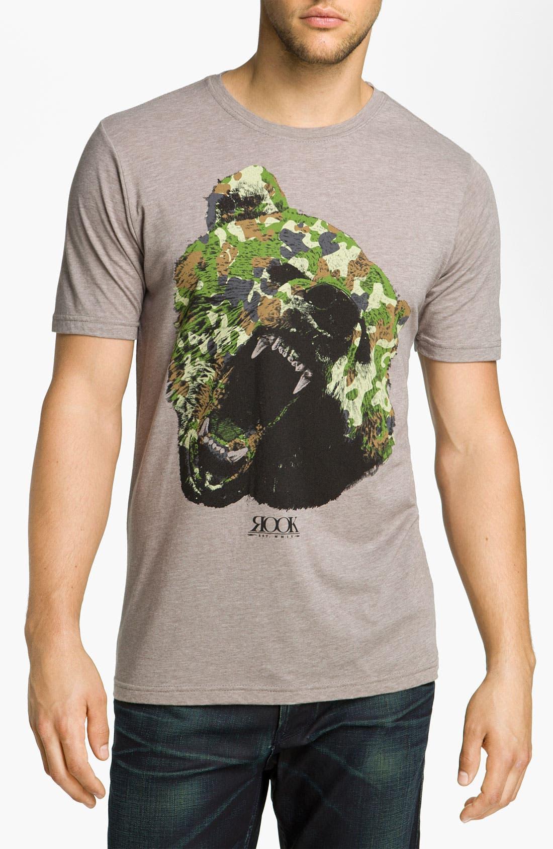 Main Image - Rook 'Camo Bear' Graphic T-Shirt