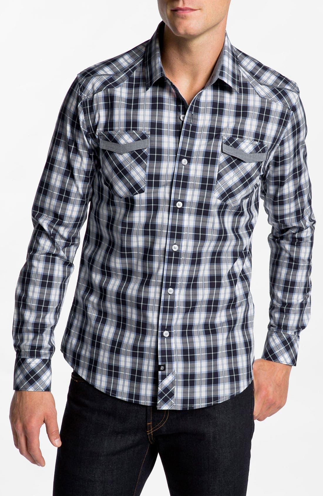 Alternate Image 1 Selected - 7 Diamonds 'Make Believe' Woven Shirt