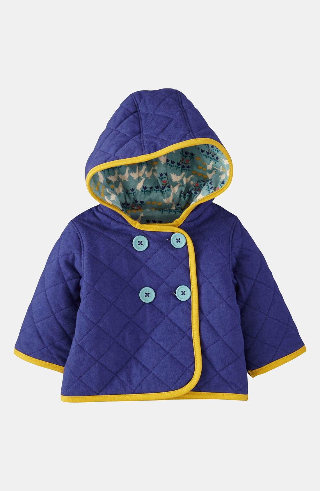 Alternate Image 1 Selected - Mini Boden Quilt Jacket (Infant)