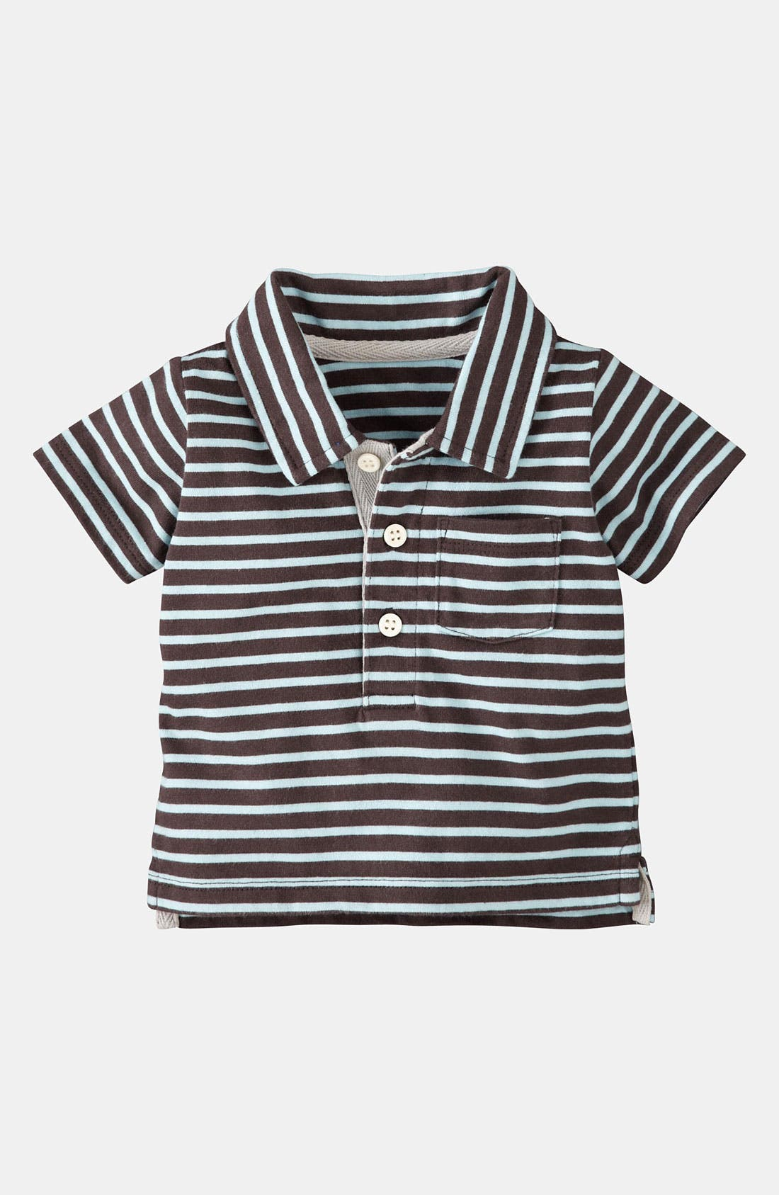 Alternate Image 1 Selected - Mini Boden 'Baby' Polo (Infant)