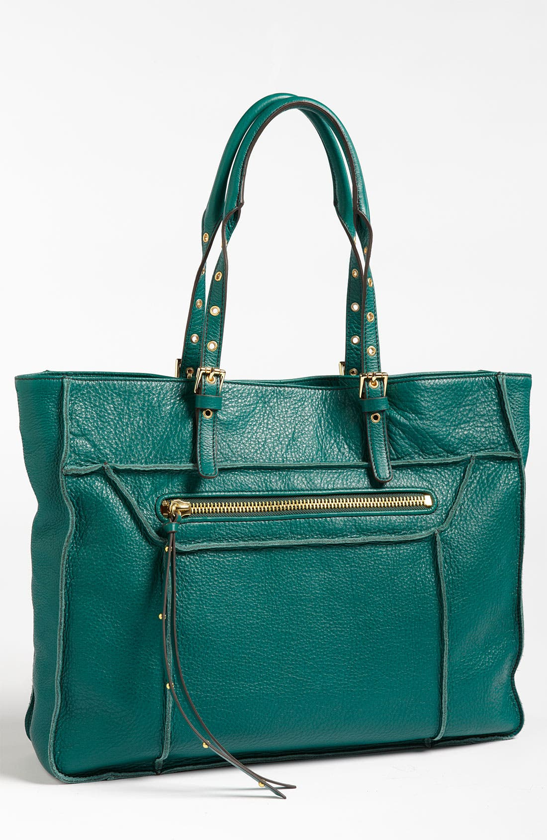 Alternate Image 1 Selected - Steven by Steve Madden 'France' Calfskin Leather Tote