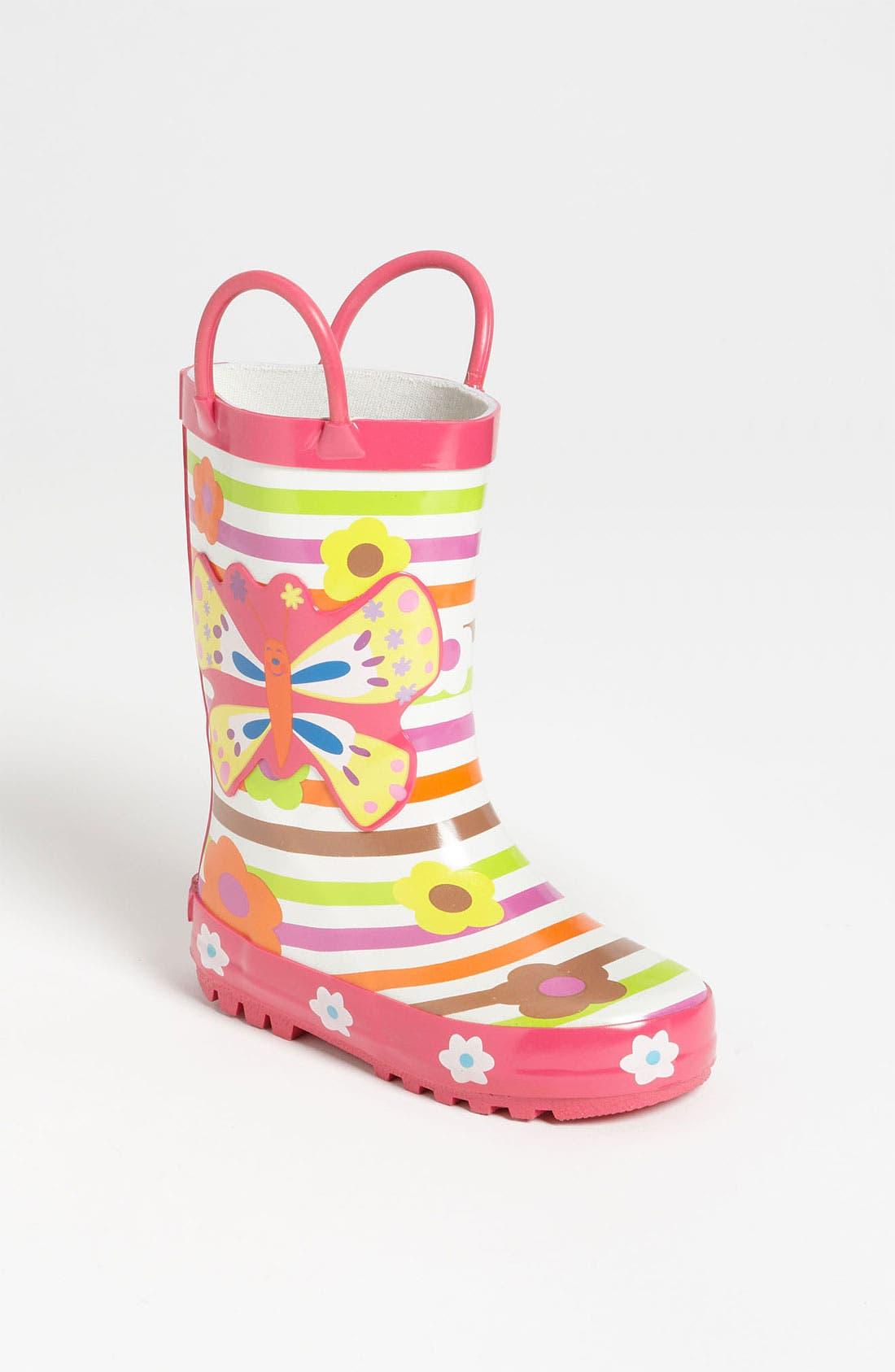 Alternate Image 1 Selected - Laura Ashley 'Garden' Rain Boot (Little Kid & Big Kid)
