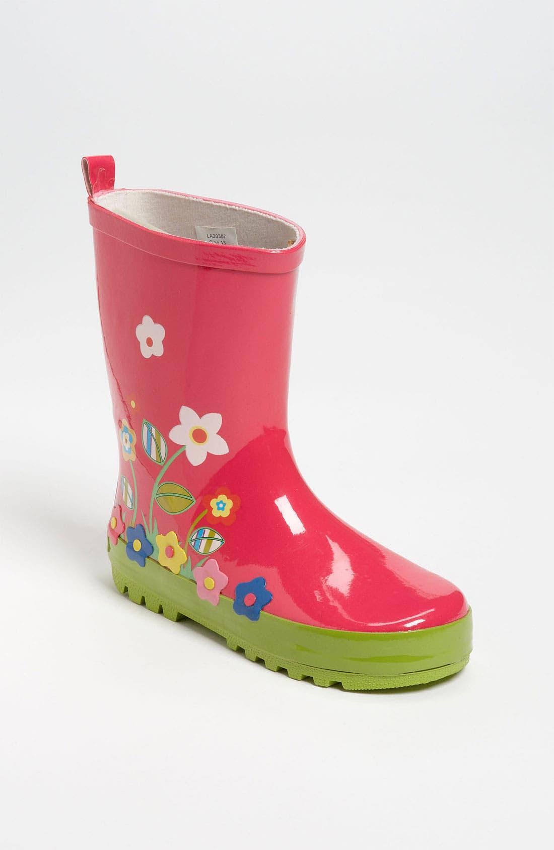 Alternate Image 1 Selected - Laura Ashley 'Garden' Rain Boot (Walker, Toddler, Little Kid & Big Kid)