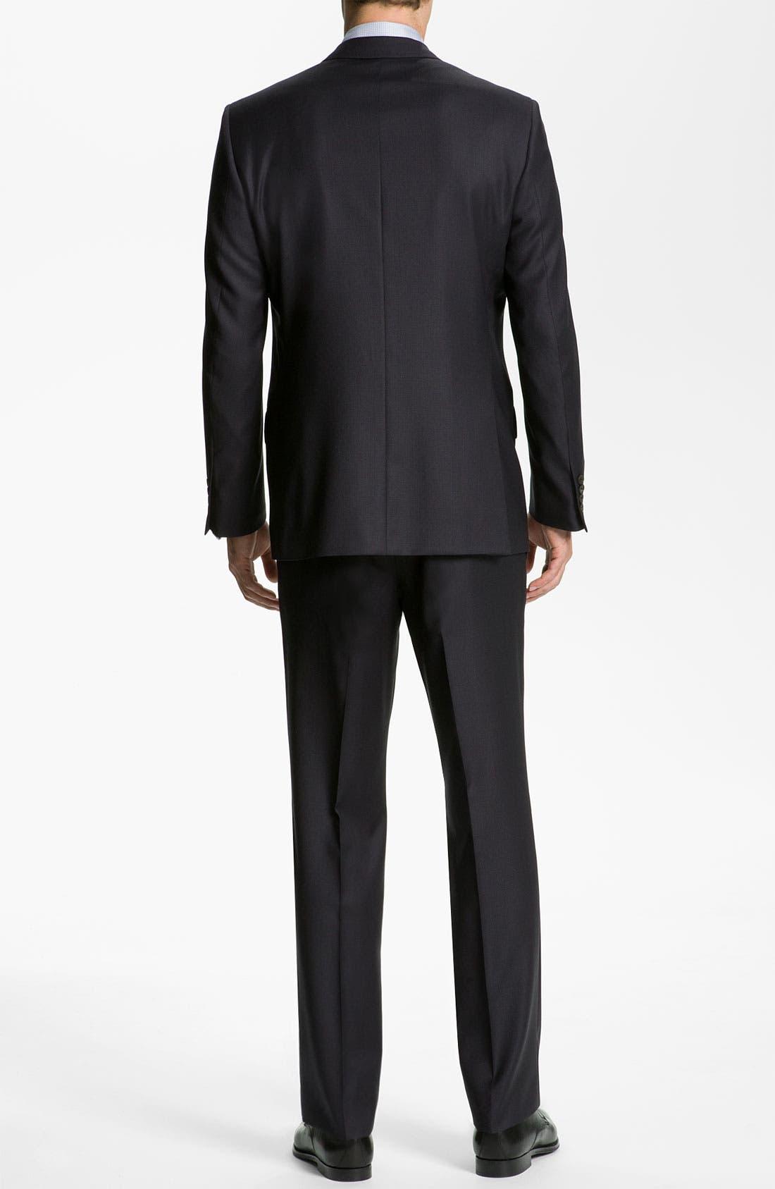 Alternate Image 3  - Ted Baker London 'Jones' Trim Fit Stripe Suit