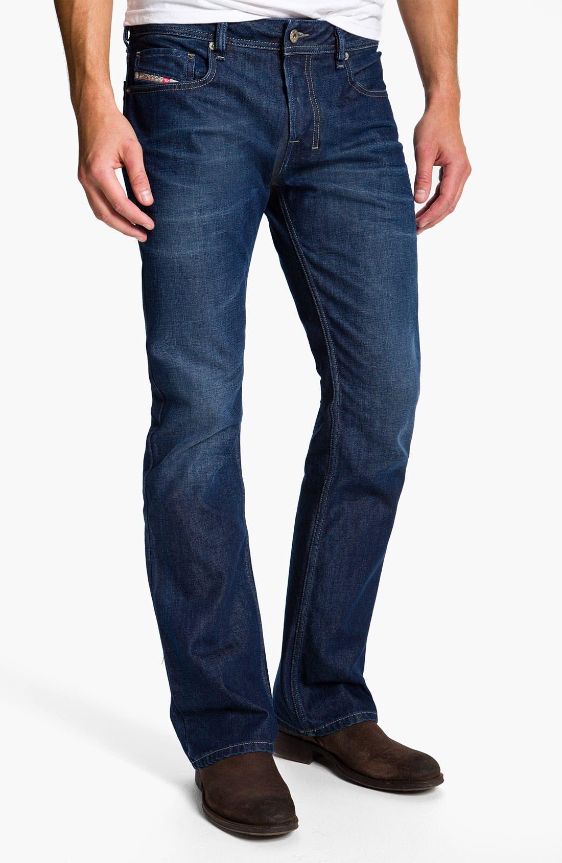 Alternate Image 2  - DIESEL® 'Zatiny' Bootcut Jeans (0802D)