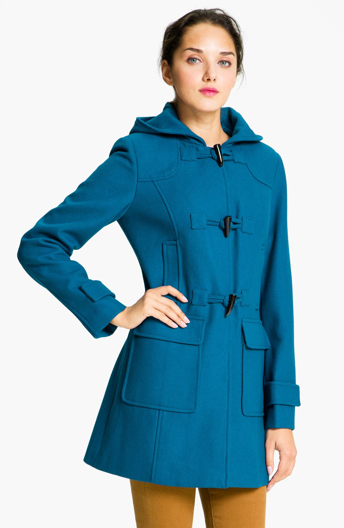 Alternate Image 1 Selected - Vince Camuto Hooded Duffle Coat