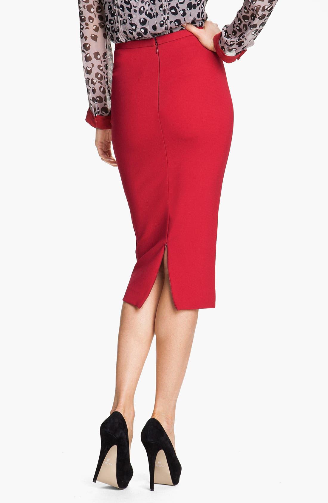 Alternate Image 2  - Diane von Furstenberg 'Samara' Pencil Skirt