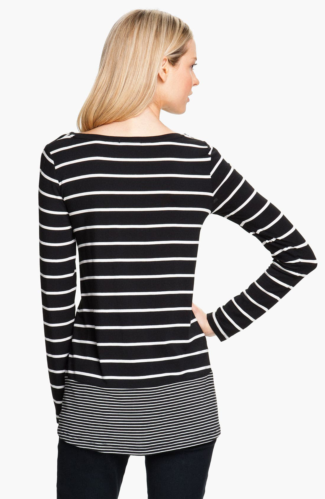 Alternate Image 2  - Isaac Mizrahi Jeans 'Bethany' Stripe Top