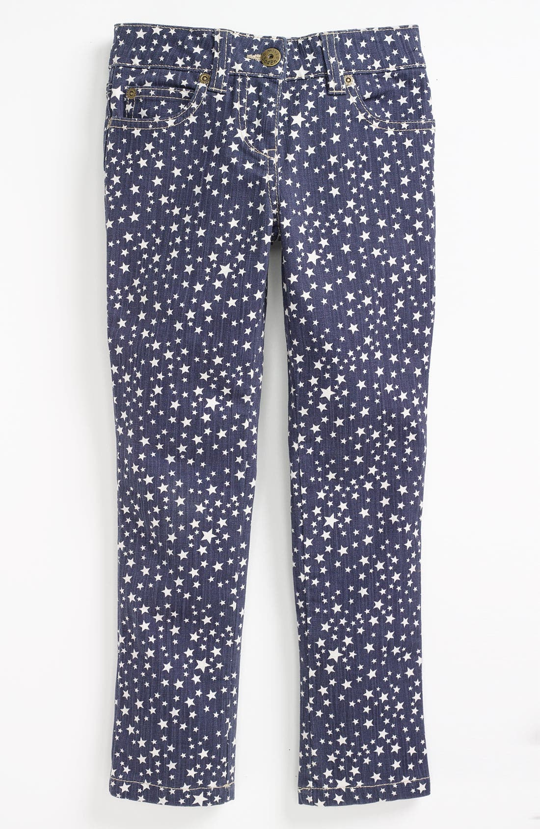 Alternate Image 2  - Mini Boden Print Jeans (Toddler)