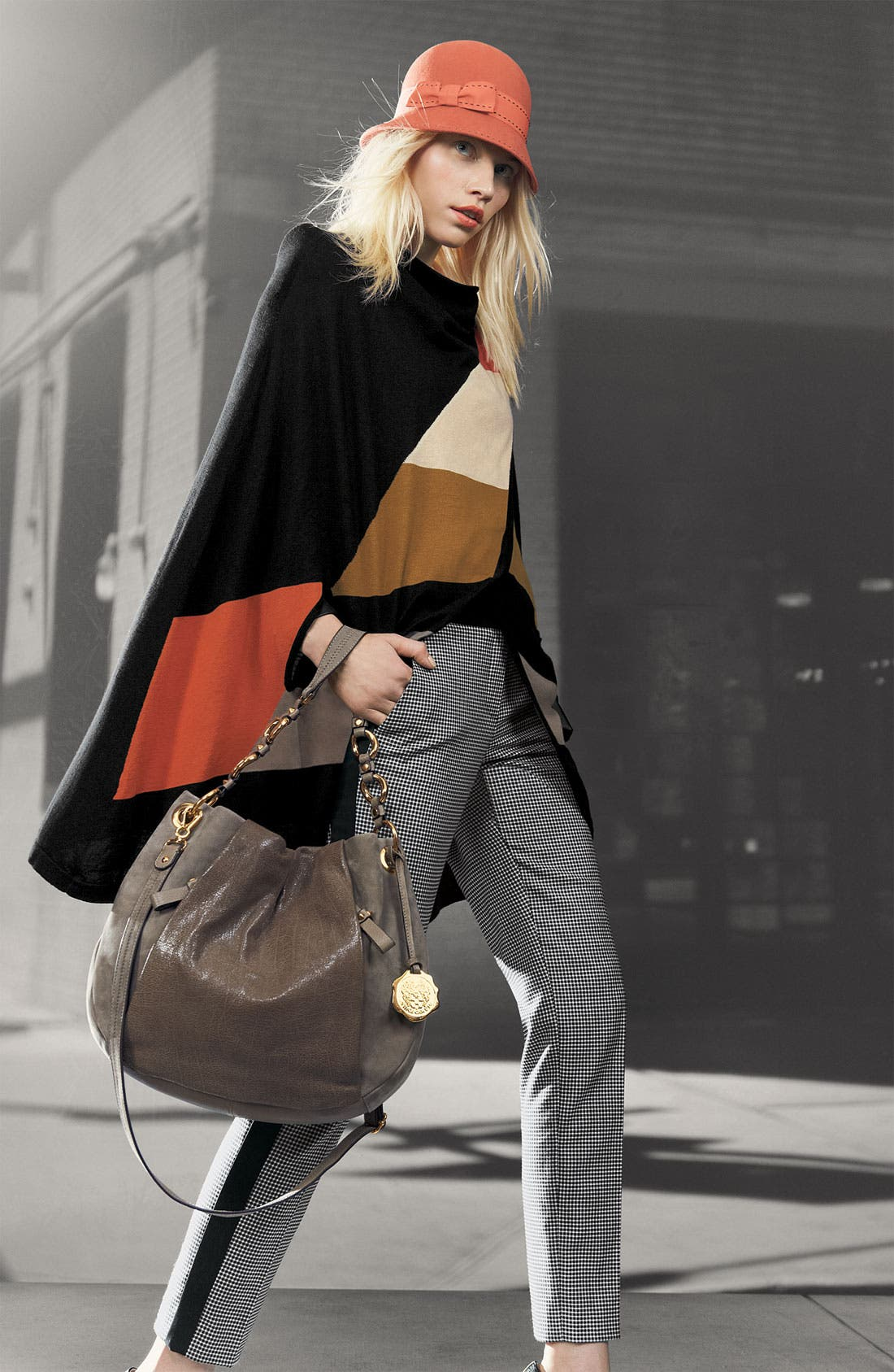 Alternate Image 3  - Halogen® Colorblock Cape