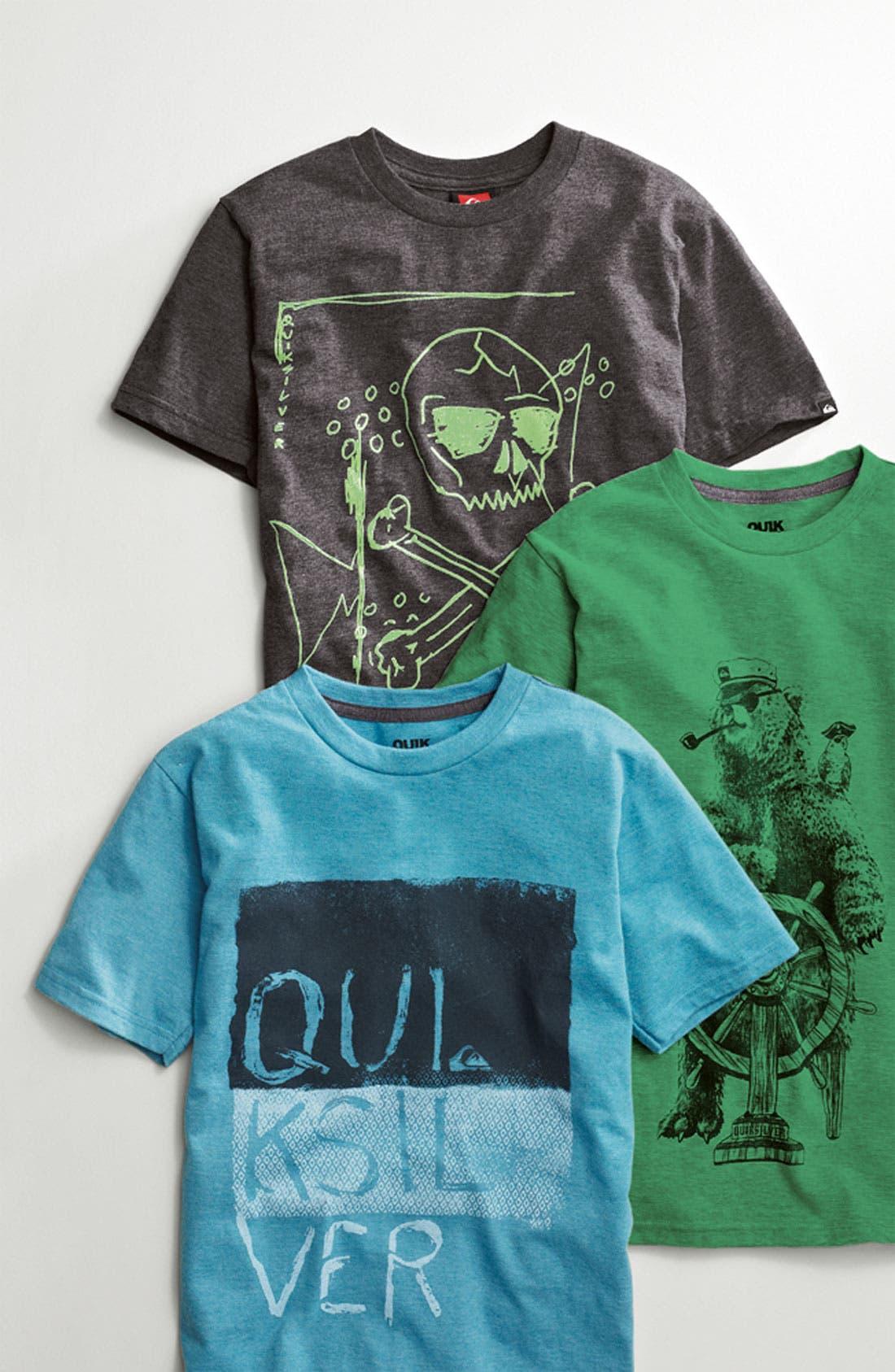 Alternate Image 2  - Quiksilver Ring Spun Jersey T-Shirt (Little Boys)