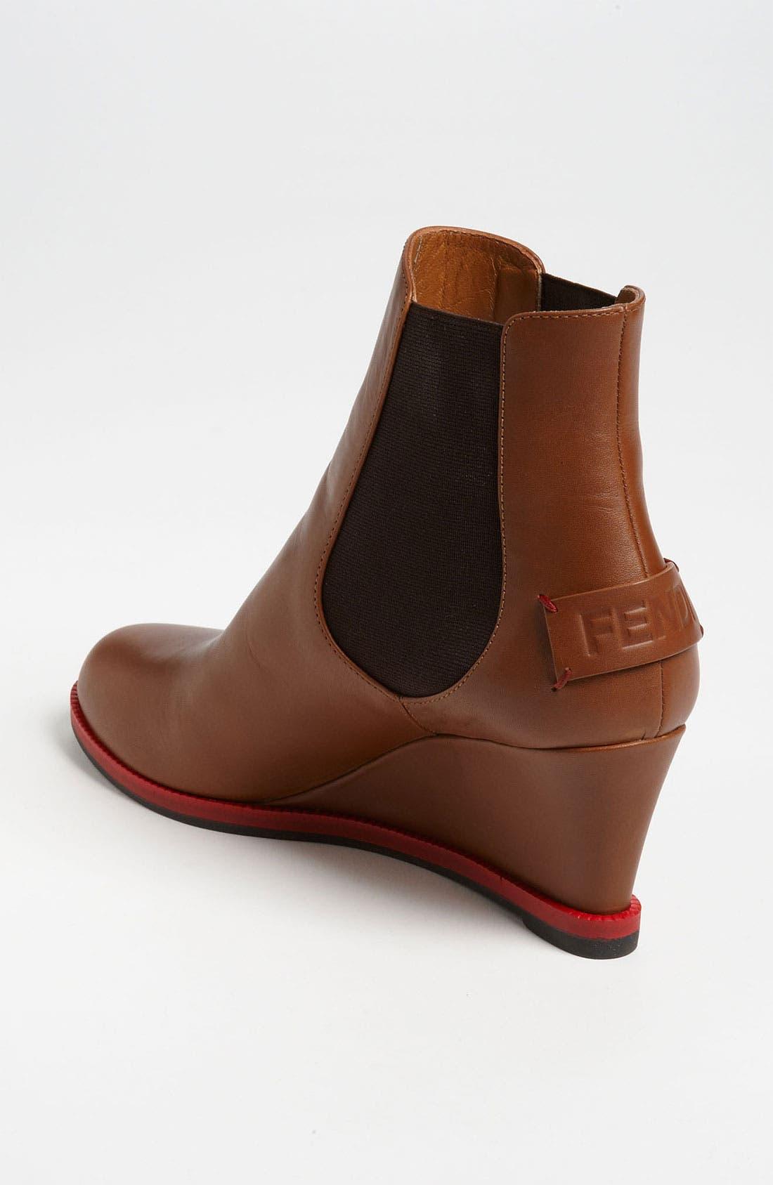 Alternate Image 2  - Fendi Gored Wedge Ankle Boot
