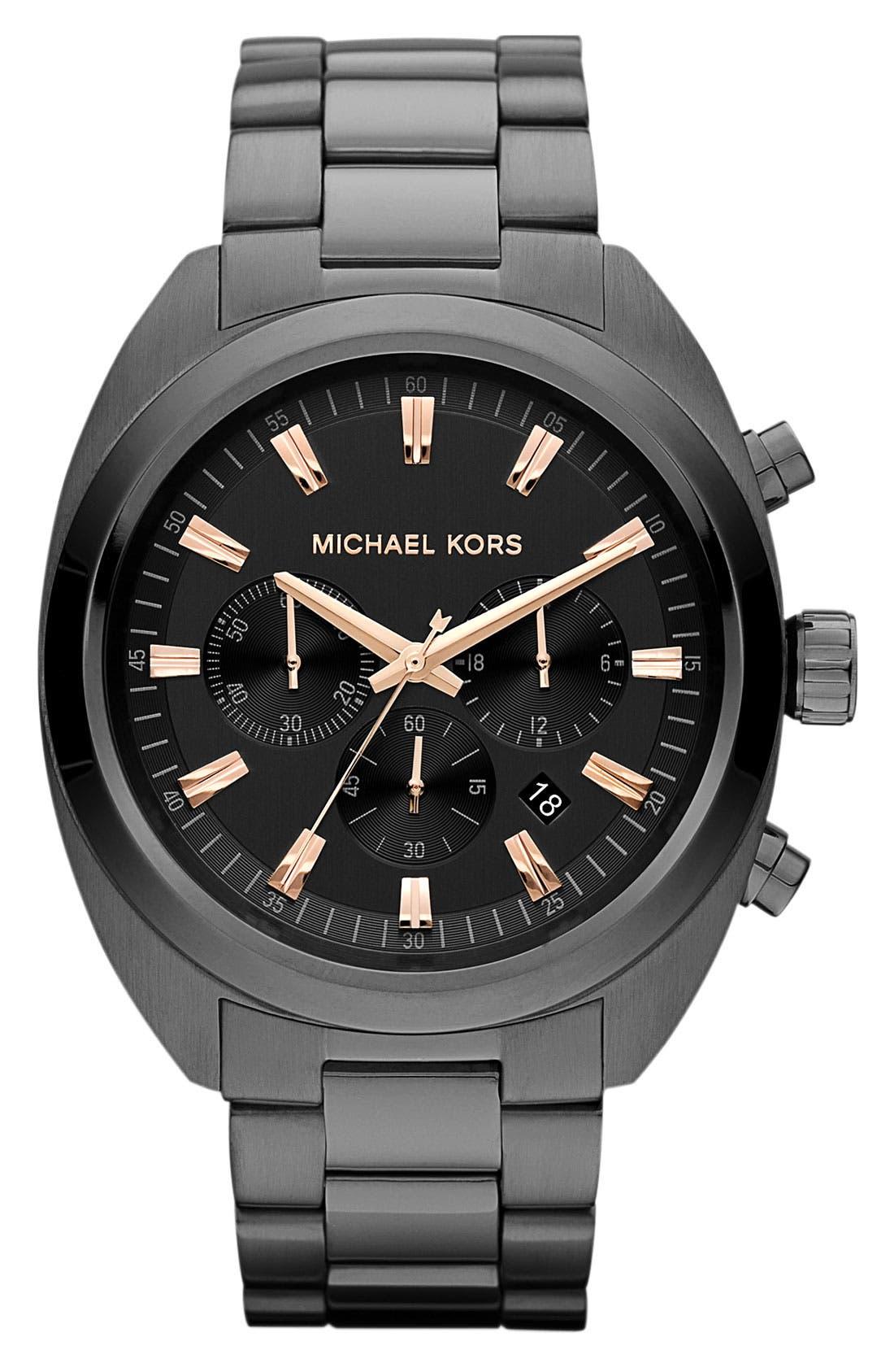Alternate Image 1 Selected - Michael Kors Chronograph Bracelet Watch