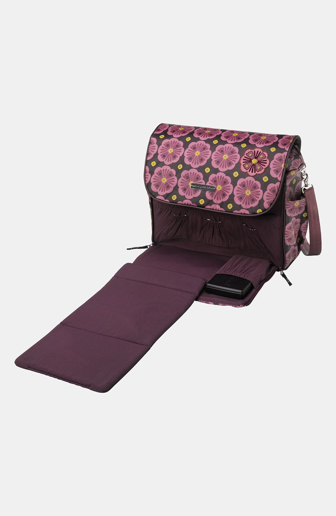 Alternate Image 3  - Petunia Pickle Bottom 'Abundance Boxy' Magnetic Closure Diaper Bag