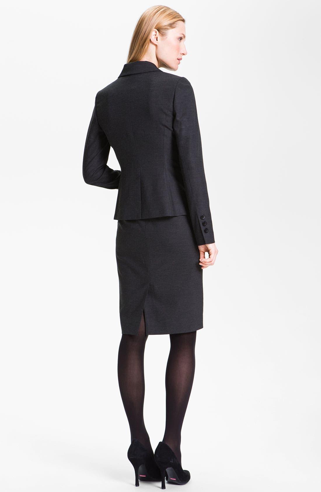 Alternate Image 5  - Classiques Entier® 'Glam Grid' Skirt
