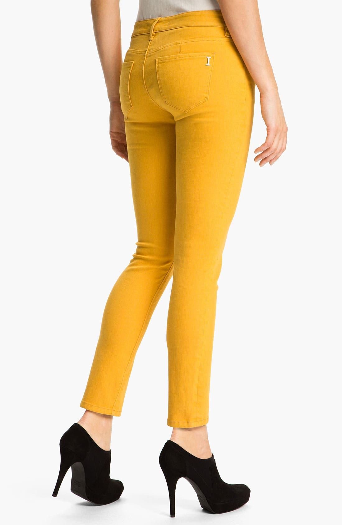 Alternate Image 2  - Isaac Mizrahi Jeans 'Samantha' Colored Skinny Jeans