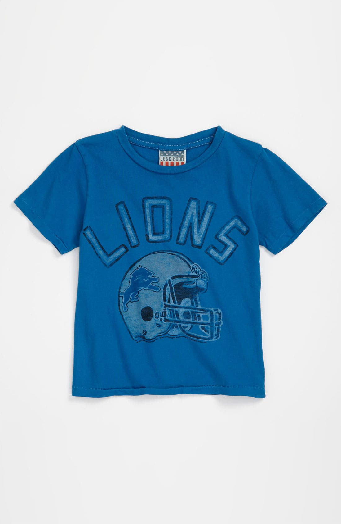 Alternate Image 1 Selected - Junk Food 'Detroit Lions' T-Shirt (Toddler)