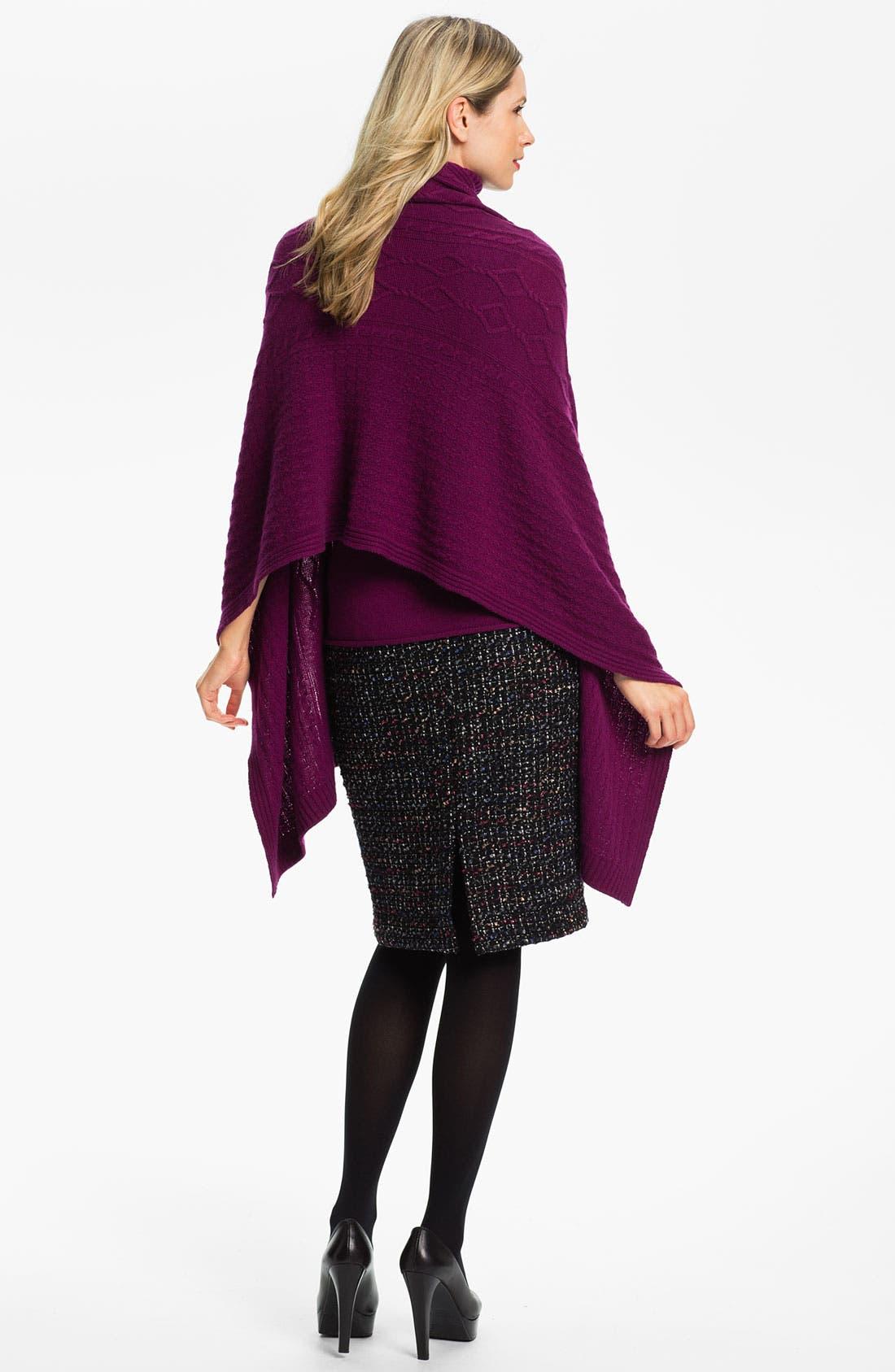 Alternate Image 5  - Lafayette 148 New York 'Cambria Tweed' Slim Skirt