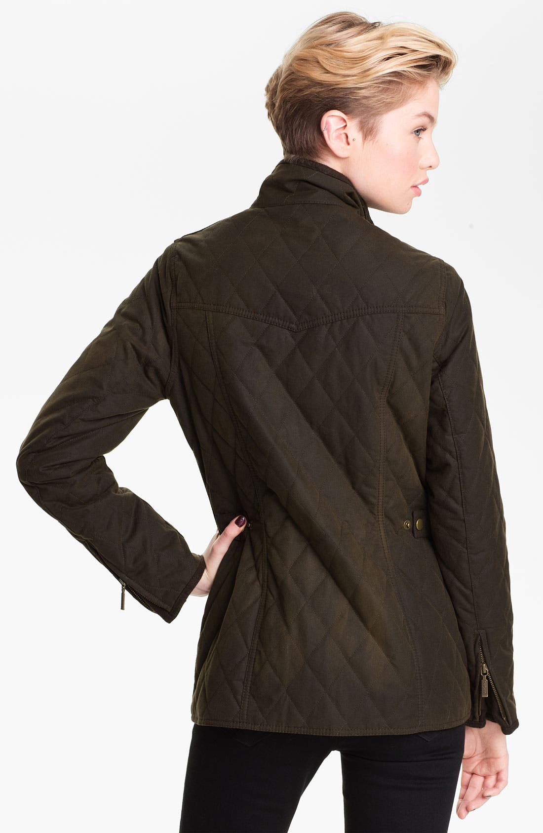 Alternate Image 3  - Barbour Quilted Utility Jacket
