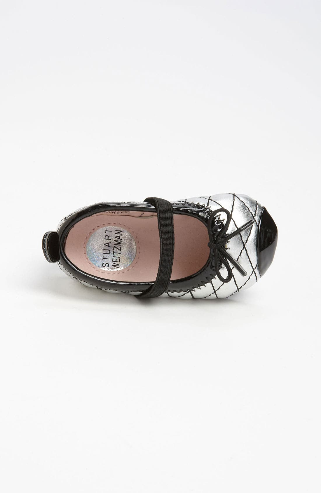Alternate Image 3  - Stuart Weitzman 'Baby Chippy 2' Crib Shoe (Baby)