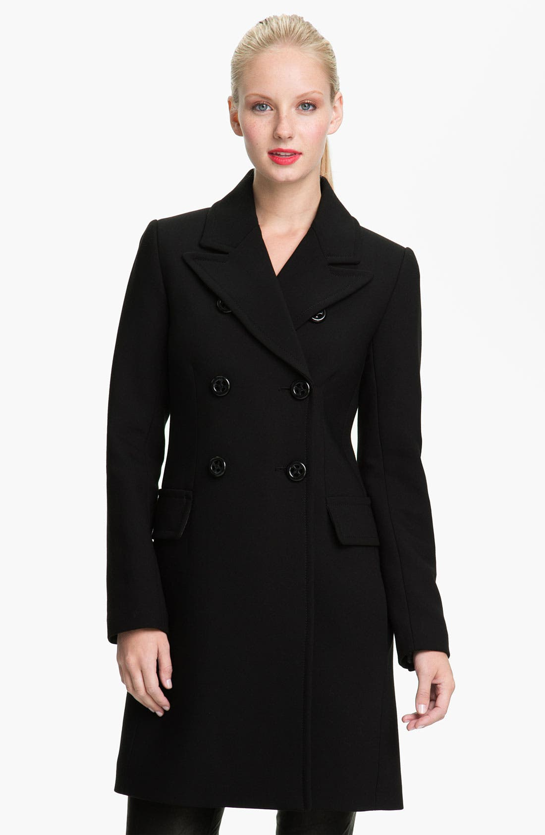 Alternate Image 1 Selected - Trina Turk Double Breasted Coat