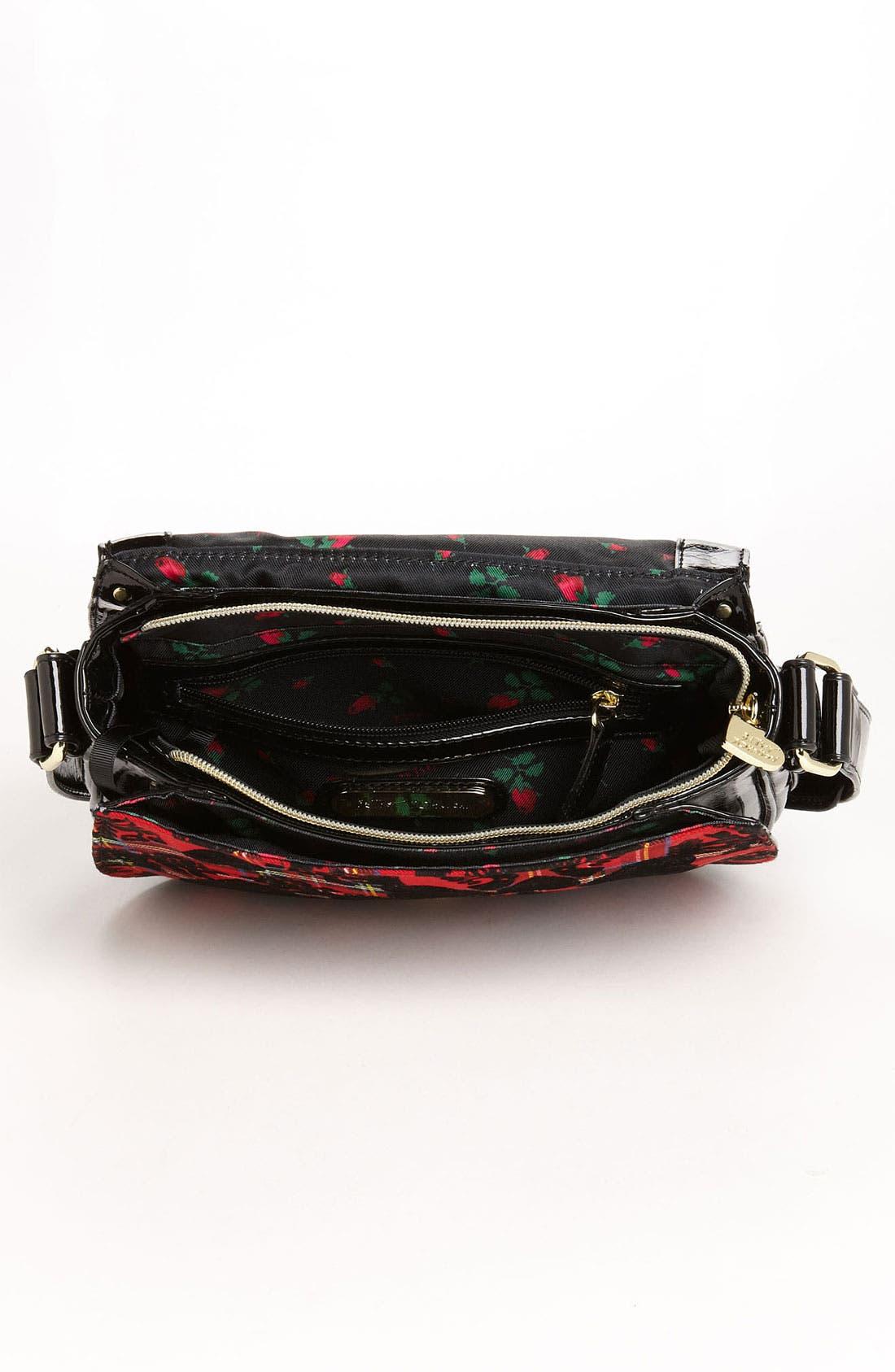 Alternate Image 3  - Betsey Johnson 'School of Hearts' Crossbody Bag