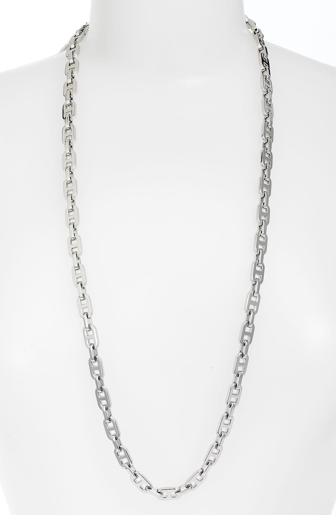 Alternate Image 1 Selected - Michael Kors 'Equestrian Luxury' Long Link Necklace