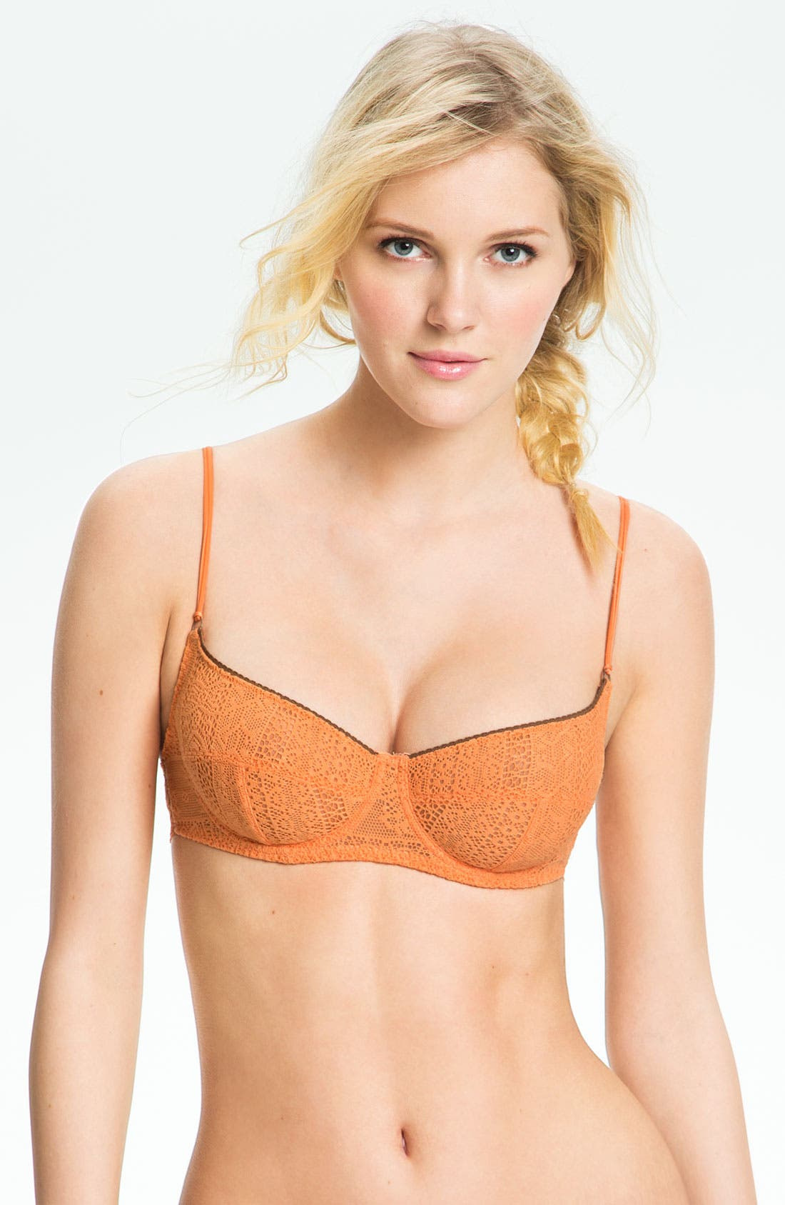 Alternate Image 1 Selected - Free People Lace Underwire Bra